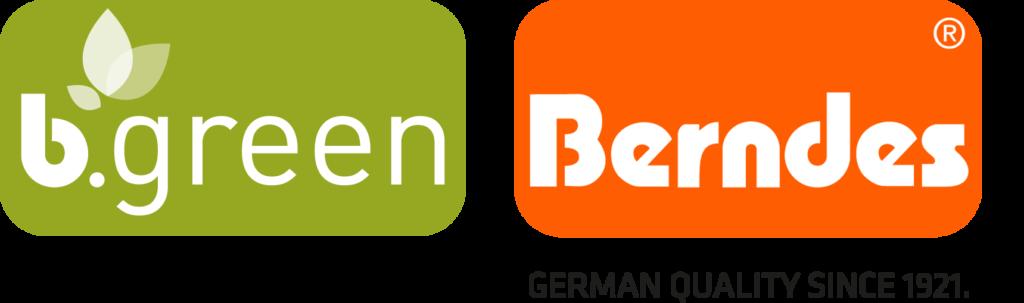 Logo b.green und Berndes